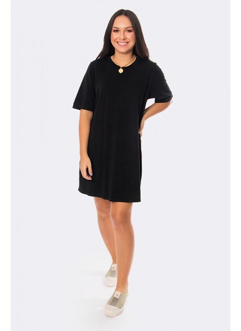 vestido camisetao preto 20399 1