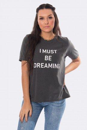camiseta feminina estonada i must be dreaming chumbo 20363 2