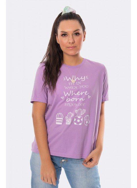 camiseta estampa cactos lilas 20359 2