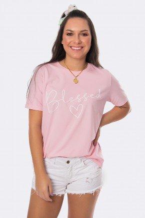 camiseta blessed estonada rosa 20362 1
