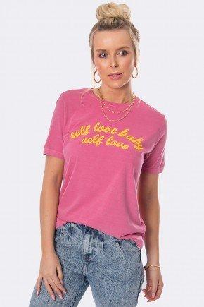 camiseta self love baby reativo rosa chicletes 30269 2