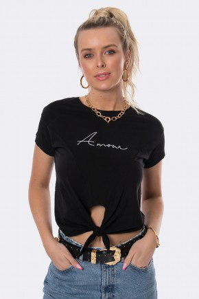camiseta amarracao bordado amour reativo preto 20376 2