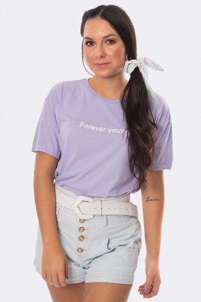 camiseta forever young reativo lilas 20379 2