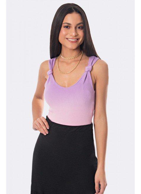 body tie dye canelado com nozinho no ombro lilas com rosa 20313 2