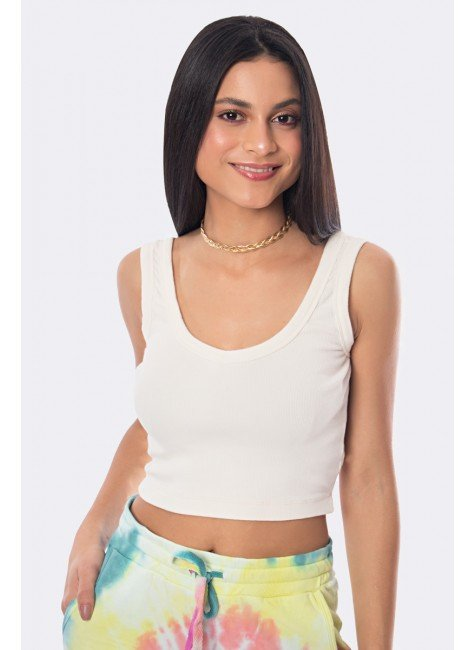 cropped canelado off white 20337 1