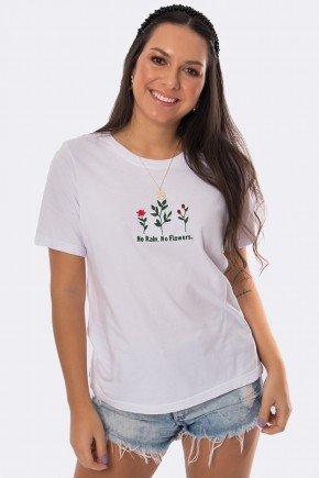 camiseta soltinha com bordado flores branco 20345 2