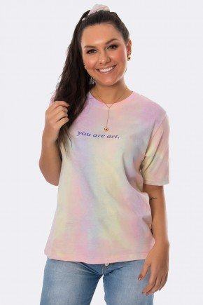 camiseta you are art tie dye multicolor 20401 3