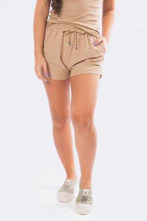 shorts de malha curto bege 20405 1