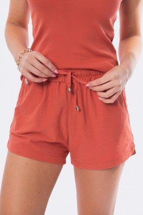 shorts de malha curto telha 20406 1