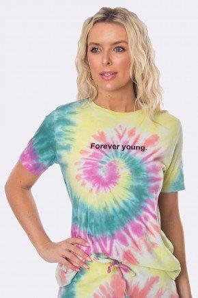 camiseta feminina forever young tie dye 4 cores 20358 1